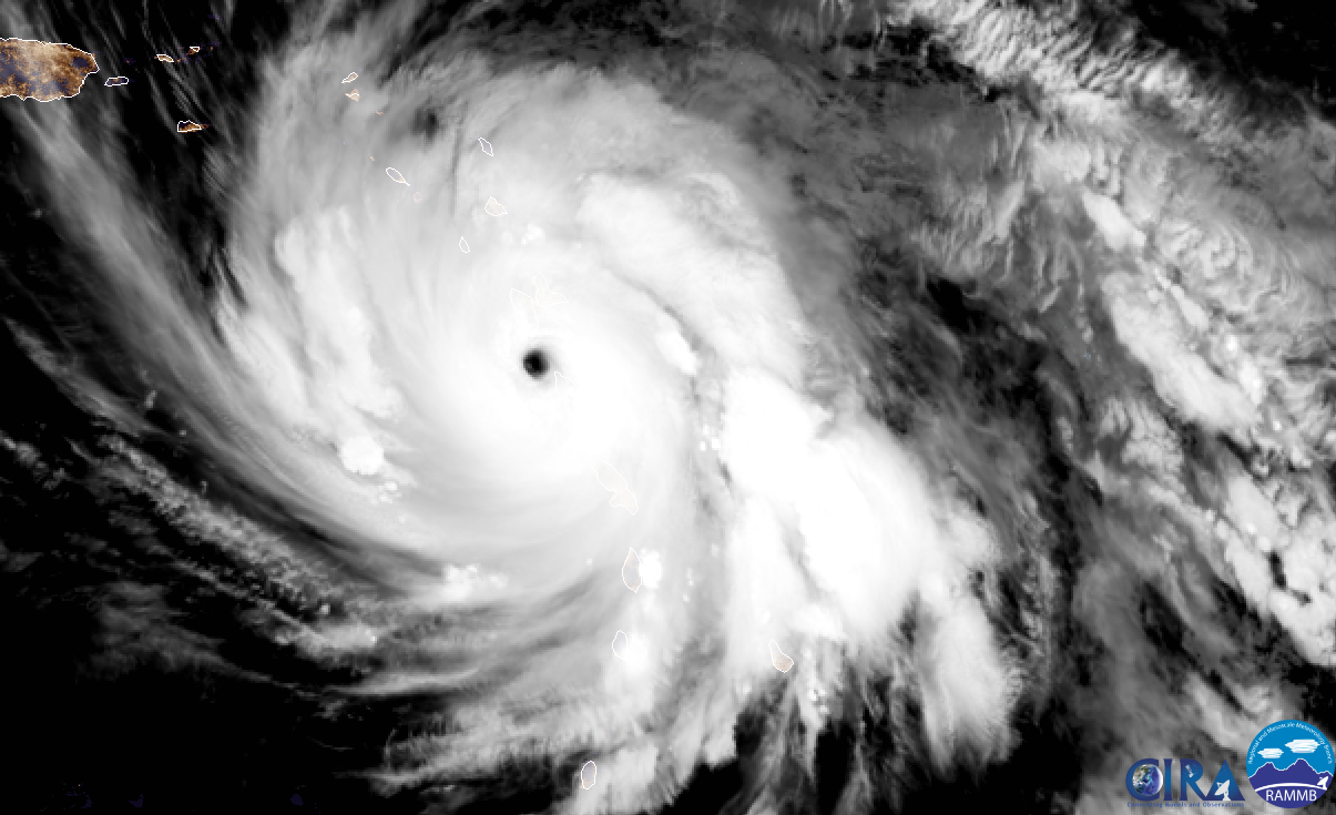 Image satellite MARIA