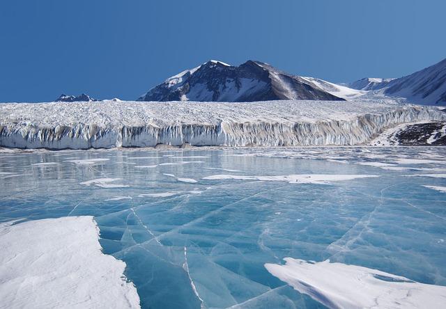 antarctique glacier