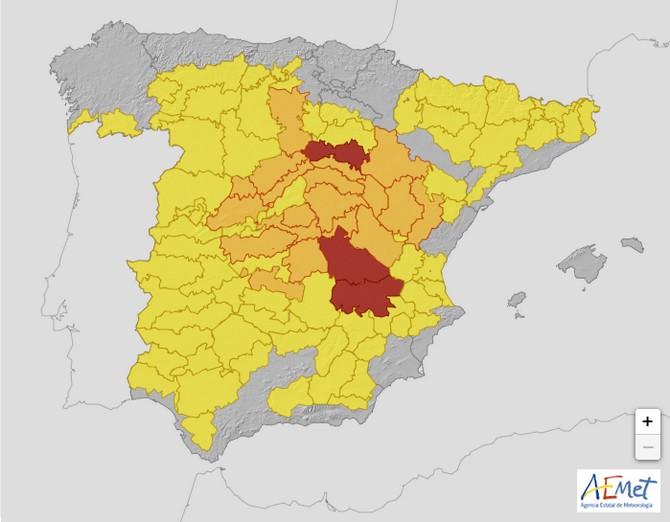 Après la neige, le froid extrême en Espagne