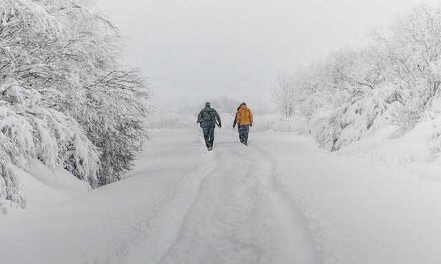 Chutes de neige dans le Nord-Est samedi