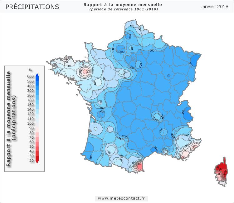 Météo Precipitations012018