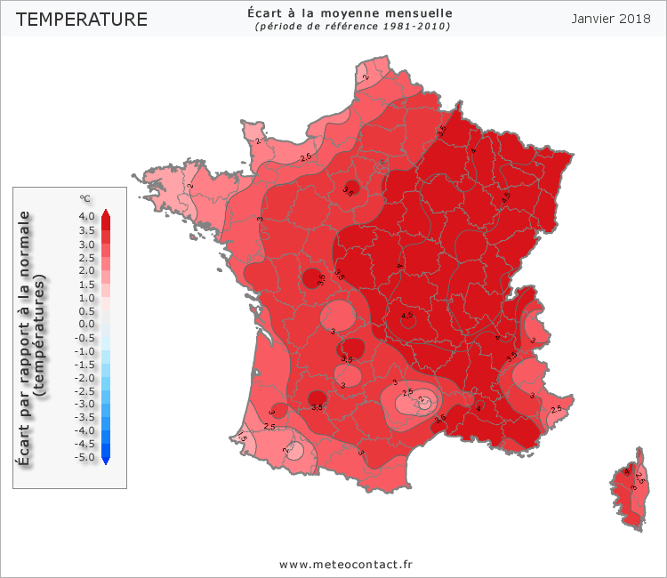Météo Temperature012018