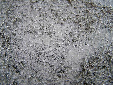 Petites billes glacées -> Grésil