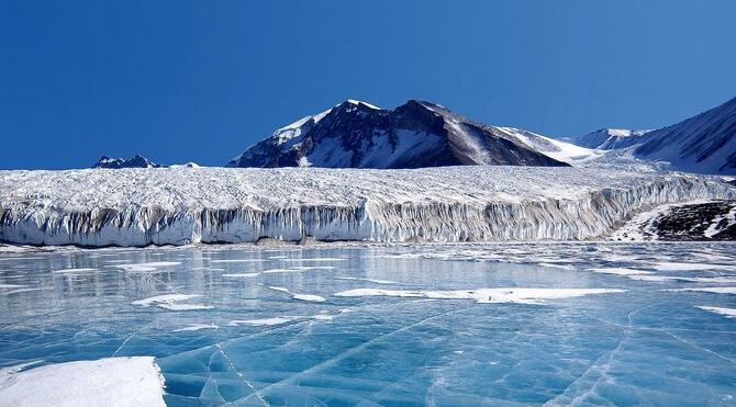 Paysage en Antarctique
