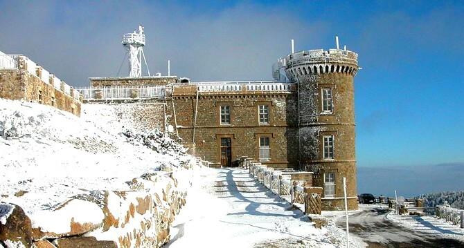 Sur les hauteurs du Mont Aigoual (30) - Station météorologique